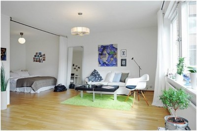 Small Studio Apartment Decoration (4)