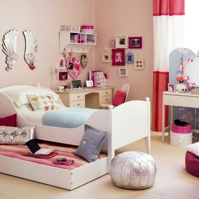 Teenage Girls Bedroom Decorating Ideas (9)