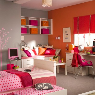 Teenage Girls Bedroom Decorating Ideas (4)