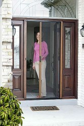 how to install a larson retractable screen door