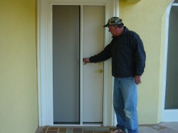 larson retractable screen doors
