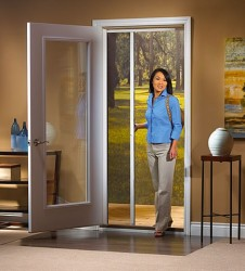 lowes storm doors retractable screen
