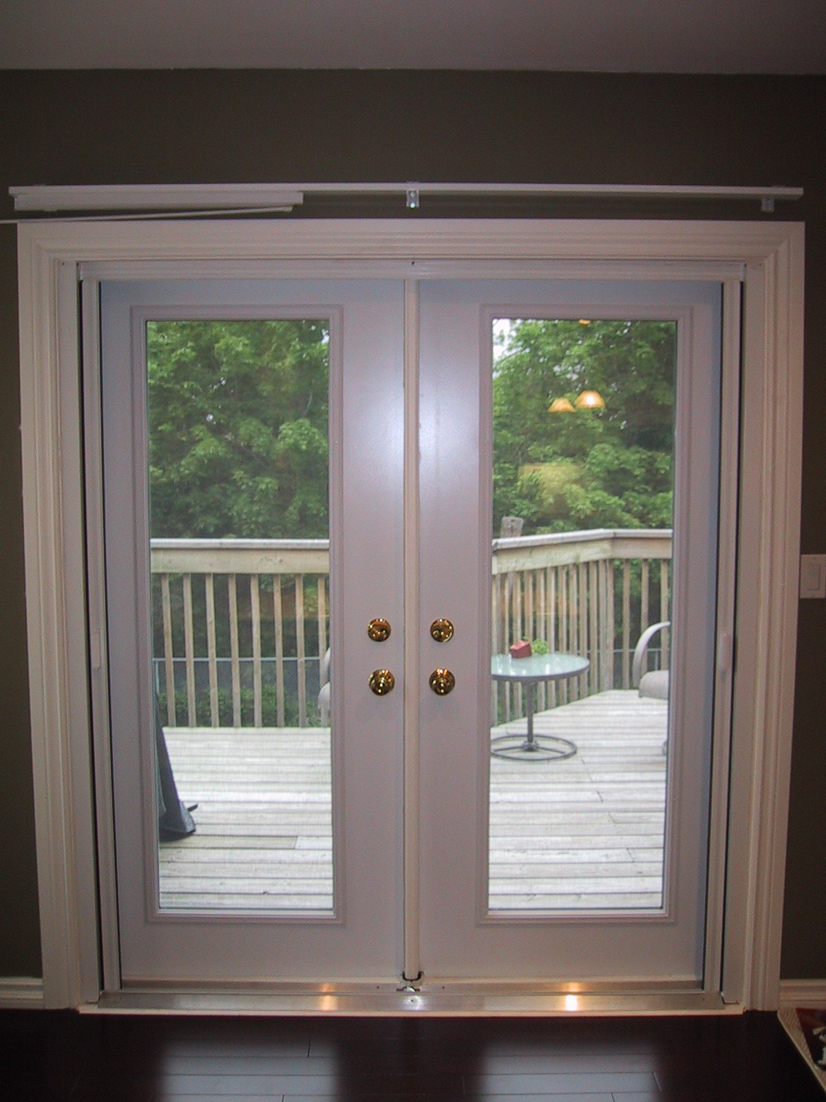 odl inc retractable screen door