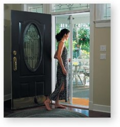 odl retractable screen door installation