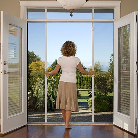 odl retractable screen doors