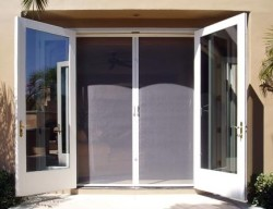 retractable sliding screen doors