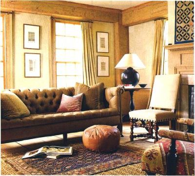 Classic Country Living Room (5)