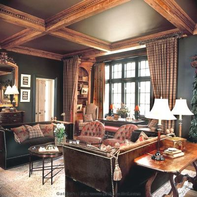 Classic Country Living Room (13)