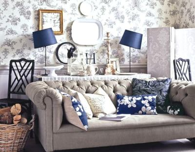 Classic Country Living Room (9)