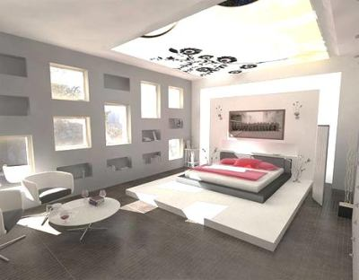 Modern Bedroom Design (21)