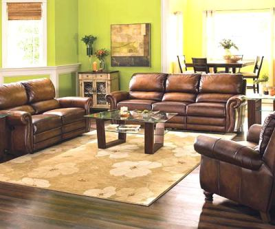 Colors of Living Room Leather Sofa (8)
