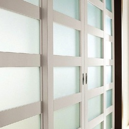 modern glass doors sliding