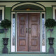 solid wood main door for house