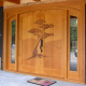 beautiful exterior wooden door design