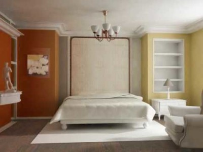 Color Scheme with Brown and Beige Colors