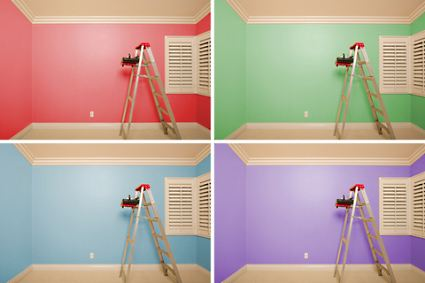 4 colors for rooms interior