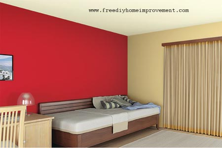 Color Scheme with Red Color