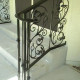 Wrought iron railings classic style