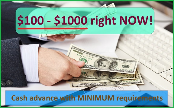 1000 dollar cash advance